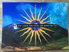 City Lights Publishers And Bookstore Postcard Catalogue Request (Unused)