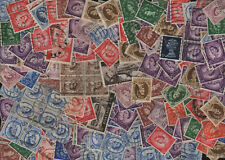 Qe Perfin Lot of 200+ Unsorted - Duplication Many Nice Cancels