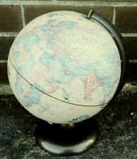 RAND MCNALLY TERRESTRIAL GLOBE   12 INCHES  INDEXED  MADE IN THE USA