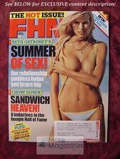 FHM JUNE 2005 BETH OSTROSKY SURF GIRLS NATALIE GULBIS  LUCA BRASI
