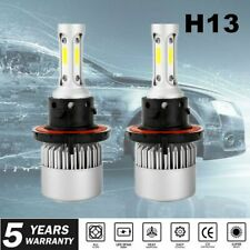 Pair H13 9008 1950W 285000LM  LED Headlight Bulb Kit Hi/Lo Beam 6000K White