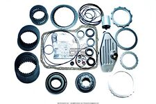 45RFE 545RFE Super Master Kit 99-05 W/ Pistons 4WD Filters Friction Steel Plates