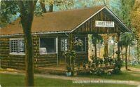 El Dorado Springs Missouri Ladies Rest Room Postcard Teich 11351