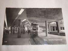 AK Wien Straßenbahn U-Bahn Schottenringpassage