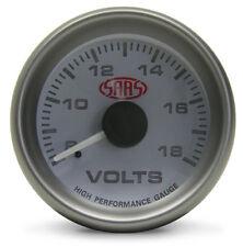 SAAS Volt Gauge 52 mm Electrical multi color