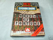 "COMMODORE 64 GAME: ""WHEEL OF FORTUNE"" - 2ND EDITION - NEW"