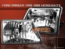 98-00 FORD RANGER DIAMOND CRYSTAL HEADLIGHTS 99 LAMPS