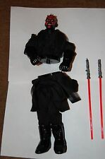 "Darth Maul Split 12"" Figure-Hasbro-Star Wars 1/6 Scale Customize Side Show"