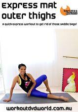 Pilates OUTER THIGH WORKOUT DVD - Barlates Body Blitz EXPRESS MAT OUTER THIGH!