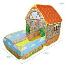 Garten Kinder Spielzelt Kinderzelt Spielhaus Pop Up Spielhöhle Bällebad Babyzelt