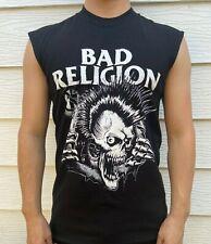Bad Religion Punk Rock Sleeveless Shirt Mens Sizes