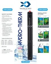 Hydro-therm 200W aquarium heater avec grille de protection fish tank submersible stat