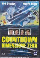 DVD Countdown Dimension Zero con Kirk Douglas Nuevo 1979