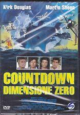 Dvd **COUNTDOWN DIMENSIONE ZERO** con Kirk Douglas nuovo 1979
