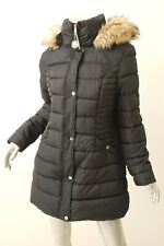 INC INTERNATIONAL CONCEPTS Black Quilted Coat M $245