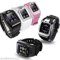 """1.4"""" Wrist Watch Cell Phone Bluetooth GSM MP3 MP4 Camera Smart Watch Touchscreen"""