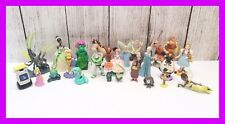 🔴 90's Vintage Disney PVC Cake Toppers Lot Pete the Dragon Toy Story Bugs Etc