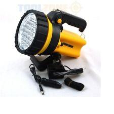 Toolzone Grand Led Rechargeable Spot Portable Lampe de Poche Lanterne