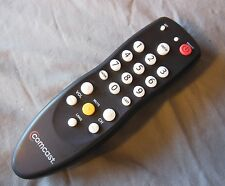 Comcast remote control for DC50X Receiver TV cable box digital transport adapter
