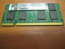 ORIGINALE RAM Kingston 2gb 2rx8 pc2-6400s-666-12-e3/ddr2 di RAM Condizione Top