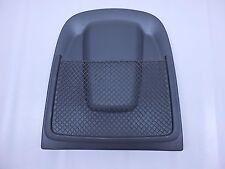 2013 AUDI S4 QUATTRO B8 OEM FRONT LEFT SEAT BACK PANEL W/ NET BLACK 8T0881969E