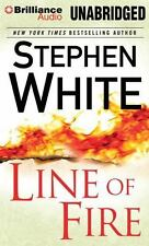 LINE OF FIRE unabridged audio book on CD by STEPHEN WHITE - Brand New! 13 Hours!