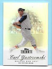 2012 Topps Tribute #96 Carl Yastrzemski Boston Red Sox