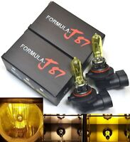 Rally 9005 HB3 100W 3000K Yellow Two Bulbs Head Light High Beam Upgrade Lamp OE
