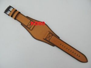 Genuine original Fossil FS-4616 Brown leather strap band