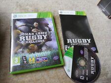 Jonah Lomu Rugby Challenge (Microsoft Xbox 360) Mint