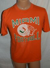 Vintage University Of Miami Hurricanes Sportswear T-Shirt Mens L USA