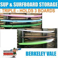 Surfboard SUP Stand up Paddleboard Longboard Wall Storage Rack Garage Shelf