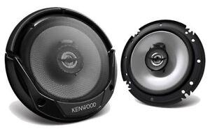 "NEW!! (PAIR) 6-1/2"" KENWOOD 600W 6.5"" KFC 2-Way Coaxial Car Speakers | KFC-1666S"