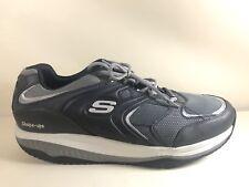 NEW Skechers 52004 EW XT Talas Shape Ups Grey Sport Fitness Sneaker Mens 15 WIDE