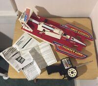 VTG 1987 Remco Radio Control Thunder Hawk 1601 Racing With Box
