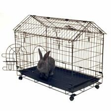 Kennel-aire Safe Large Indoor Rabbit Cage Hutch Bunny House Cleaning Tray
