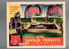 SAVAGE PRINCESS-1955-DILIP KUMAR-NIMMI-DRAMA-LOBBY CARD VF