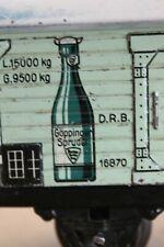Aus Sammlungsauflösung ? seltener Märklin Mineralwasserwagen 1687 Spur 0