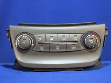 2013 Nissan Sentra Heated AC Control Without Duel Zone 140323 R1117