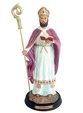 """12"""" Inch San Cipriano Statue Figurine Figure Magician Mago Santo St Saint Santo"""