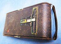 Antique A-3 Folding Pocket Kodak Eastman Camera Carry Case
