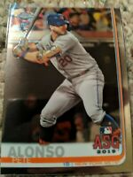 PETE ALONSO RC 2019 Topps Chrome Update #86 New York Mets ASG