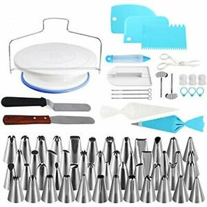 Stainless Steel Cake Decorating Set - 102pcs