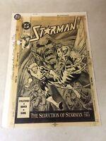 STARMAN #31 original cover prod art WASP  BEAST 1991 SEDUCTION OF STARMAN large
