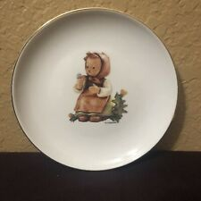 M J Hummel Small Make A Wish Collectors Plate