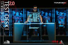 TOYS-BOX 1/6 Iron Man Workshop Scene Test Desk 2.0 Figure Accessory TB028