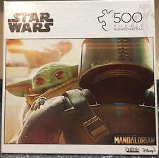 Star Wars The Mandalorian Puzzle - Baby Yoda Back - 500 Pieces - Disney- Buffalo