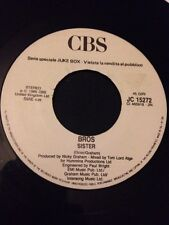 "Bros / Liza Minnelli - Rare Italian Jukebox Promo 7"" - New - Matt Goss Luke Goss"