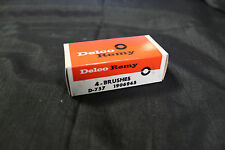 Vintage NOS Delco-Remy Brush Set D-757 GM 1906945 Buick Chevy 1955-62 (236*)