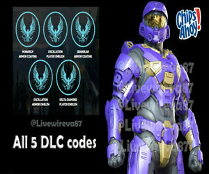 Halo Infinite Official Nabisco Content Pack- 5 DLC Codes! -VERY RARE**